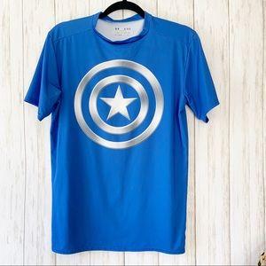 🌼3for$35 Captain America Under Armour shirt V1